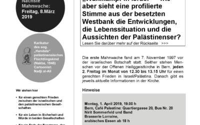 Flyer Mahnwache Februar 2019